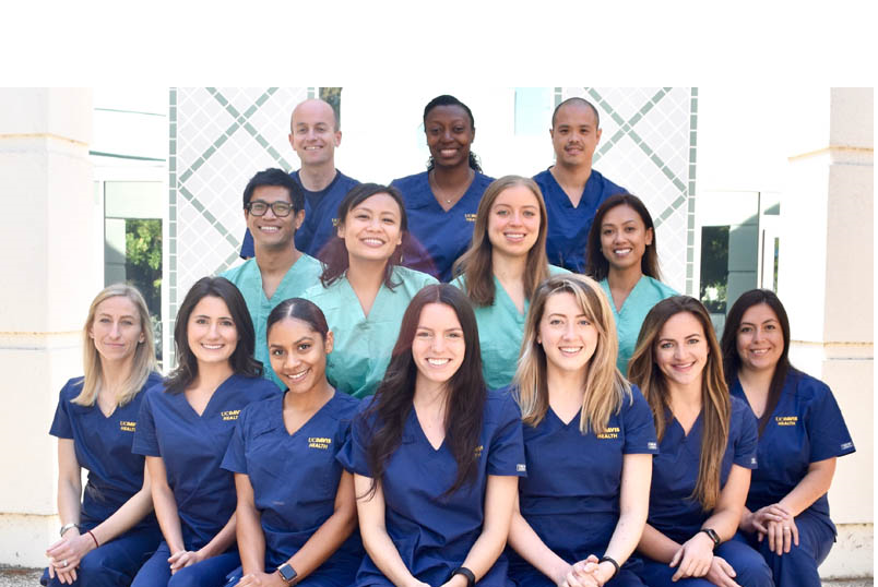 group of nurses smiling